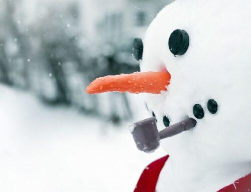 Mensch, der Schneemann!